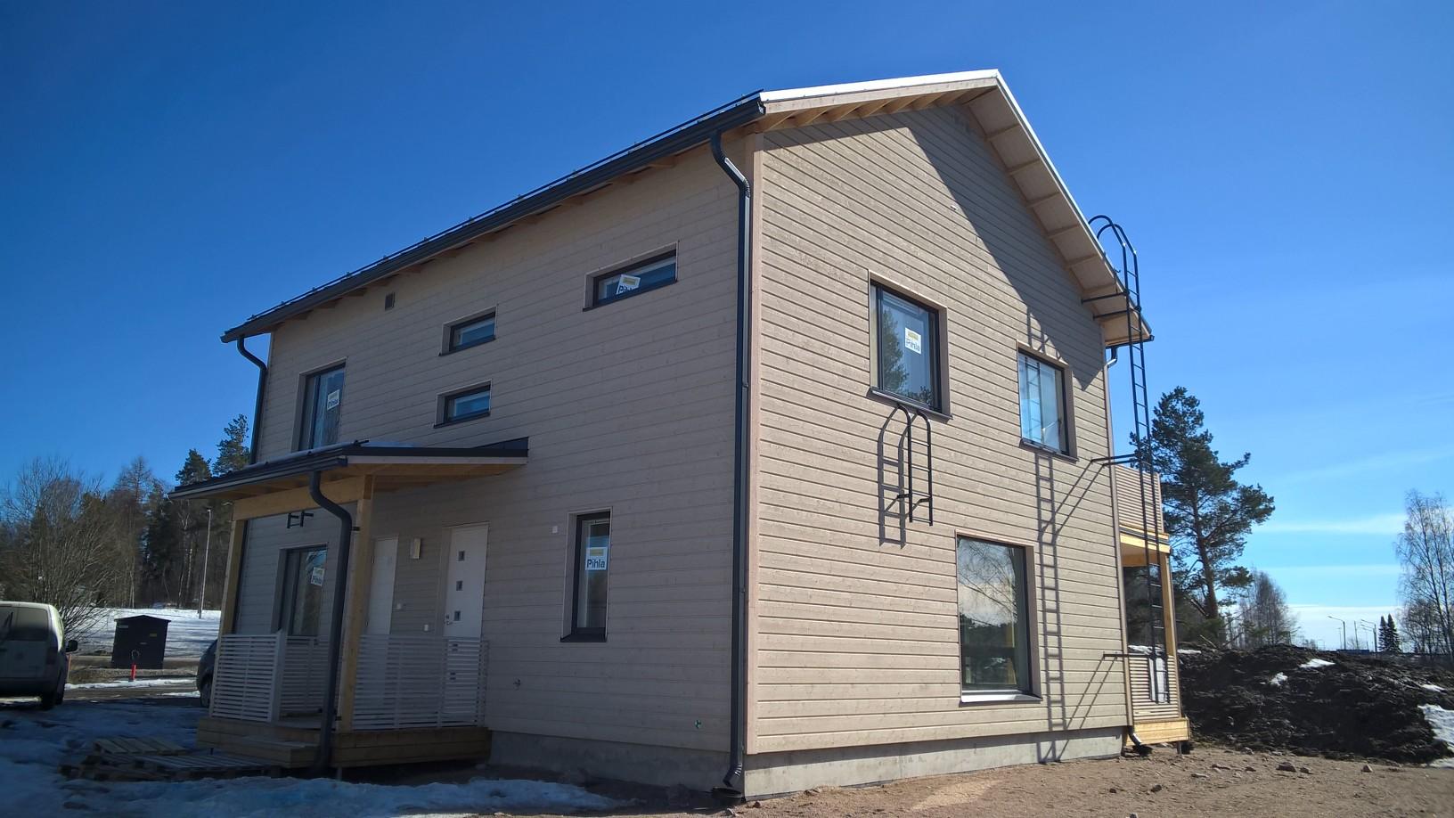 Talonäyttely:Ainoakoti, Yksilöllinen koti 160 m2
