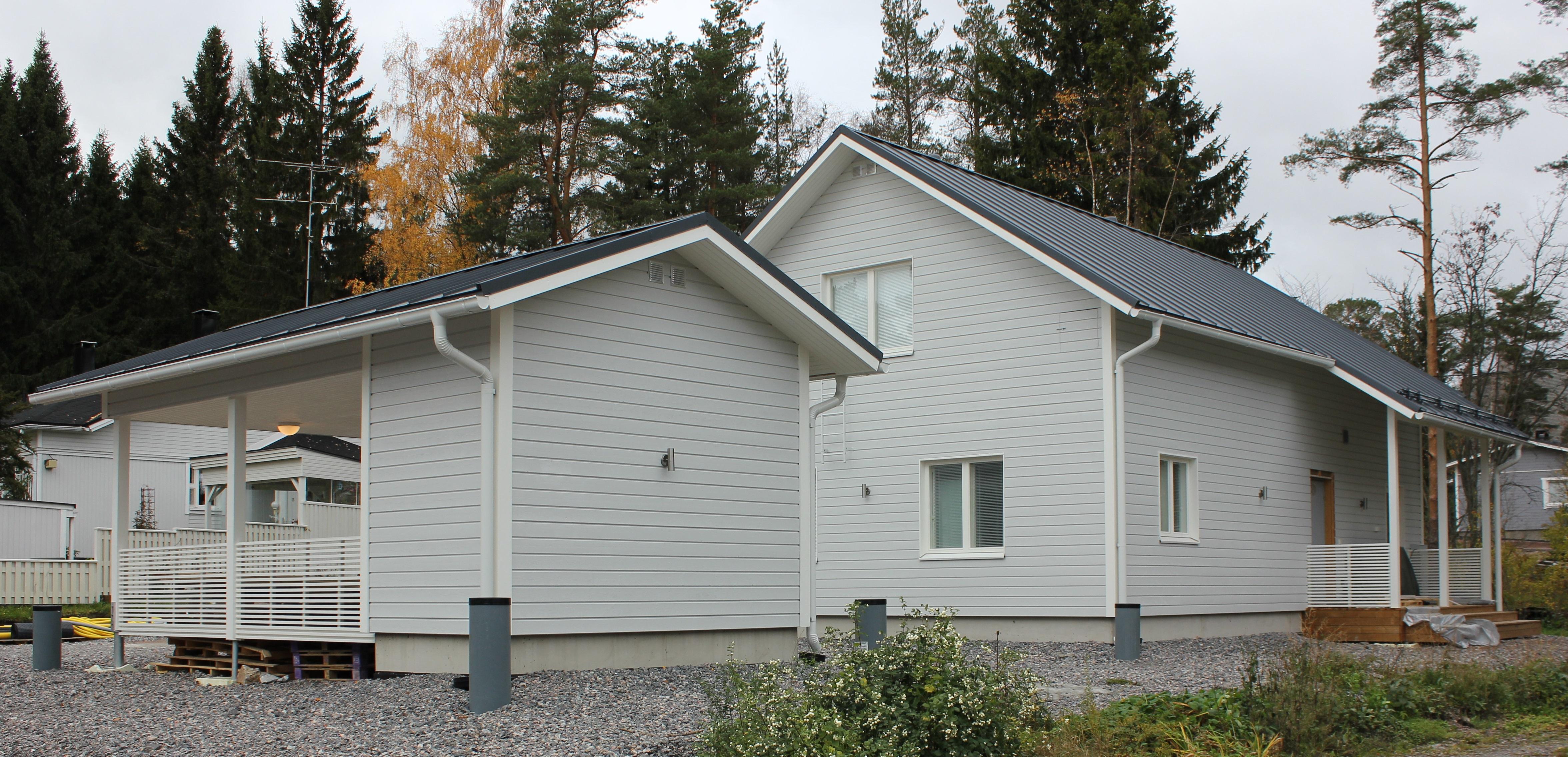 Julkisivukuva - Ainoakoti, Yksilöllinen koti 134 m2